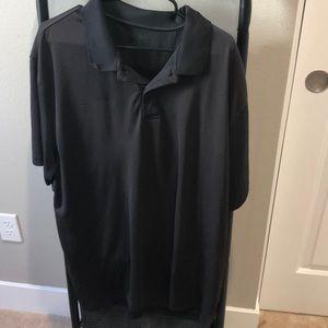 Black Reebok Golf Shirt